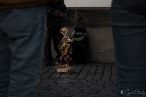 Cyril Mouty photography Prague architecture street performer