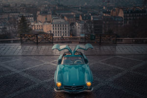 Cyril Mouty Photograhy vintage car paris mercedes