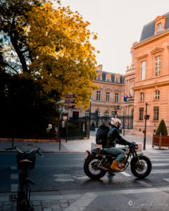bike moto paris street