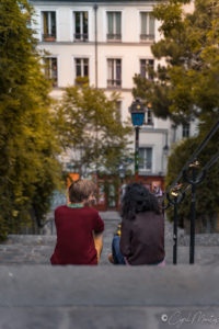 couple amour paris street
