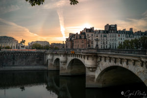 bridge paris cityscape
